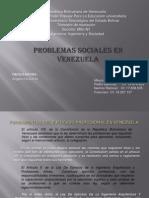 Diapositivas Problemas Sociales Vzla