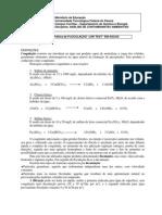 """Prática de FLOCULAÇÃO """"JAR TEST"""" EM ÁGUAS"""