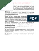 MODELOS DE ESTADO y DESARROLLO DEL PENSAMIENTO ECONÓMICO
