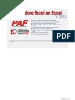 Calculadoras Fiscales en Excel 2013