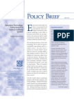 Education Technology for a 2st Century Learning SystemPACE Policy Brief 13-3