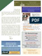 YA Newsletter May 22