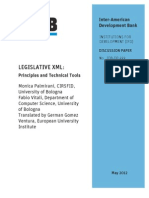 Legislative XML- Principles and Technical Tools