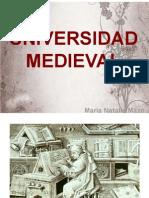 Unidad 6 Universidad Medieval - Natalia Mazo