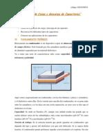 Efectos de Carga y Descarga de Capacitores-Lab 05