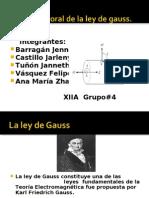 Ley de Gauss Grupo 4
