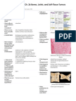 Robbins Ch. 26 Bones Joints And Soft-Tissue Tumors Review Questions