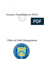Treasury Presentation to TBAC Charts