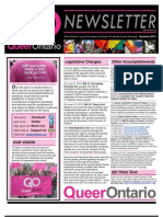 Summer 2013 Queer Ontario Newsletter