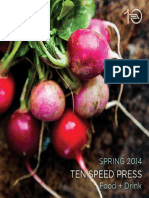 Ten Speed Press Food + Drink Book Catalog - Spring 2014