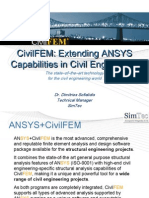 Ansys&Civilfem Pres01 Intro