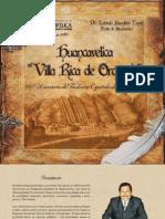 PROGRAMA - 442 ANIVERSARIO DE LA CIUDAD DE HUANCAVELICA