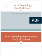 Roles of Psychology in Medical Care