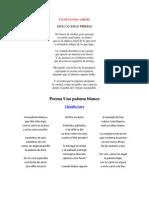 8 poemas salvadoreños