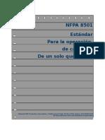 Nfpa 8501_Calderas de 1 Solo Quemador
