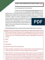 17 - Direito Administrativo - Curso Cers- 2a Fase Oab Prof.matheus Carvalho- Aula 17 (Direito Administrativo)