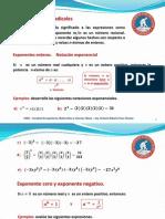 Precálculo - 1.2 Exponentes y radicales