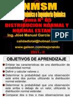 2011 II - TEMA Nº 05 - DISTRIBUCION NORMAL Y NORMAL ESTANDAR - FINAL