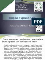 Função Exponencial - Cássio Maciel