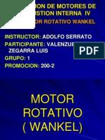 Motor Rotativo Wankel(Work 4 de Julio)