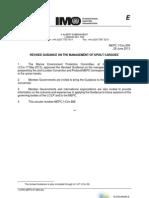 Management of Spoilt Cargoes - MEPC Guidance