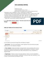 Roteiro Google Docs