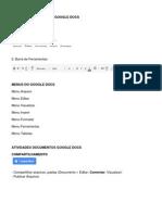 Roteiro Google Docs Documentos