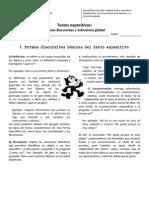 Guía - 2M - Expositivos. Estructura global, formas discursivas