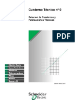 CT 00 Indice de Cuadernos Técnicos Schneider