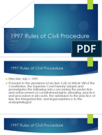 1997 Rules of Civil Procedure - Paul