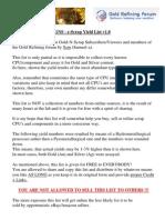 GNS - E-Scrap Yield List v1.0