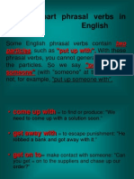 Three-Part Phrasal Verbs