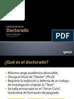 Doctorado_ventajas y Desventajas