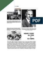 Henry Ford Su Vida y Su Obra