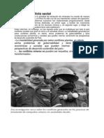 Como reducir la vilencia en Minería y  los conflicto sociales  Junio 2013