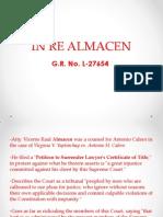 In Re Almacen