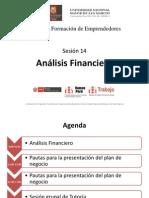 Evaluacion Economica Financiera USMP Sesion 14