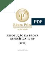 AAAAAA -Resolução da prova do TJSP