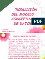 Presentacion Del Modelo Conceptual de Datos