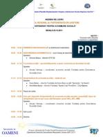 Agenda de Lucru Forum Regional