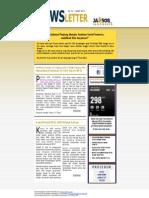 Newsletter Jaminan Sosial Edisi 53 | Maret 2013