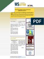 Newsletter Jaminan Sosial Edisi 42 | Juli 2012