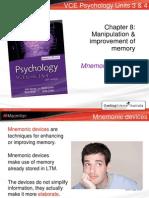 manipulation and improvement of memory