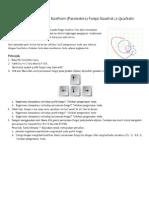 Workshop 2.6 – Menelusuri Koefisien (Parameters) Fungsi Kuadrat (a Quadratic Polynomial)