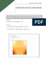 Tema 5 Derivadas de Funciones de Varias Variables