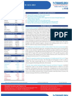 Equity Morning Note 01 August 2013-Mansukh Investment and Trading Solution