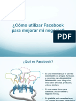 Como Usar Facebook