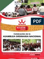 Boletín Informativo JULIO '13 -WINAQ-