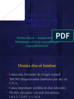 26 Enf Degenerativas Columna - 2011