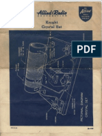 Allied Radio Knight Crystal Set (1953) WW